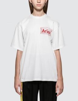 Aries Logo Short Sleeve T-shirt