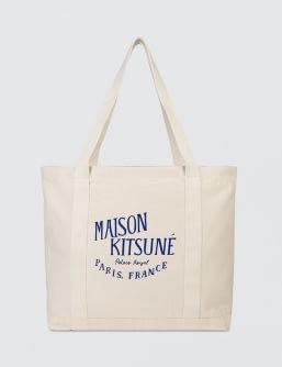 MAISON KITSUNE Shopping Bag Palais Royal Rubber