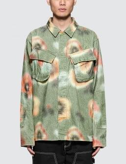 Stussy Velveteen Jungle L/S Shirt