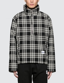 MR.COMPLETELY Puffy Half Zip Pullover
