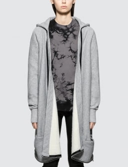 Unravel Project Terry B Hoodie Open Cape