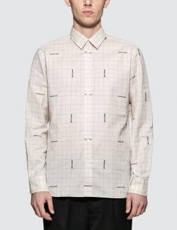MAISON KITSUNE Jacquard  Classic Shirt