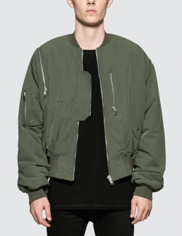 Heliot Emil Shoulder Zip Bomber