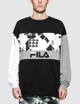 Liam Hodges x FILA Crewneck Sweatshirt