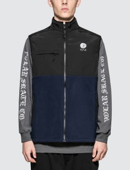 Polar Skate Co. Halberg Fleece Vest