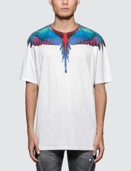 MARCELO BURLON Wings S/S T-Shirt