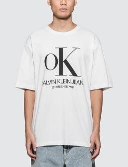 Calvin Klein Jeans Est. 1978 Modernist OK Logo S/S T-Shirt