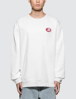 Calvin Klein Jeans Est. 1978 Modernist Eagle Embroidery Sweatshirt