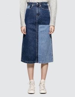 CALVIN KLEIN JEANS Midi Skirt