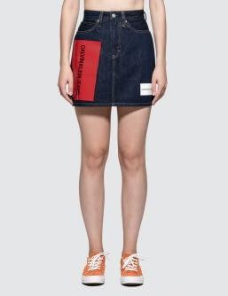 CALVIN KLEIN JEANS Hr Mini Skirt Logo