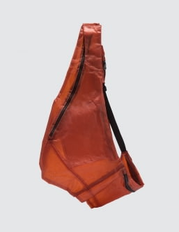 Guerrilla-group Apparition® Translucent Leather Vest Bag