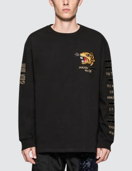 maharishi Redacted Tour L/S T-Shirt