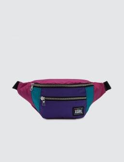 X-Girl Color Block Hip Bag