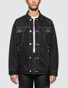 X-Girl Wide Jacket with Big Pockets