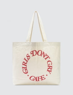 Girls Don't Cry GDC Cafe Tote Bag