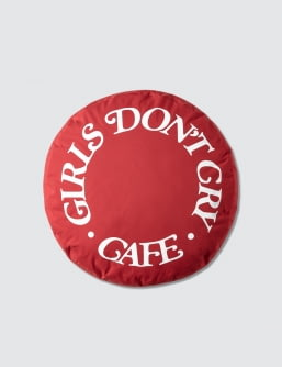 Girls Don't Cry GDC Cafe Pillow