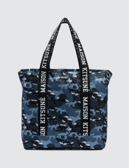 MAISON KITSUNE X Eastpak Flask Tote Bag