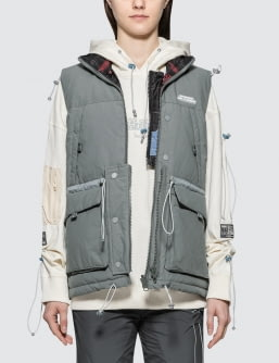 C2H4 Los Angeles Reversible User Interface Cords Down Vest