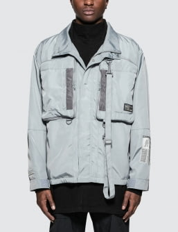 C2H4 Los Angeles Human Tech Specs Lightweight Utility M-65 Jacket