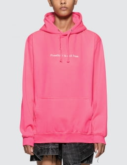 F.A.M.T. Freedom Is Not Free. Neon Hoodie