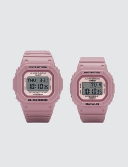 "G-Shock DW5600LF BGD560LF ""Lover's Collection 2018"" Set"