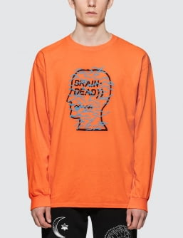 Brain Dead Infected Logo L/S T-Shirt