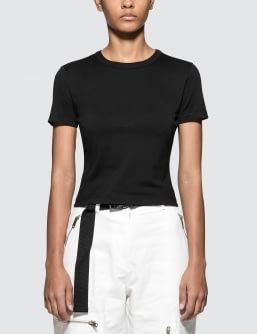 Maison Margiela Light Pure Cotton Jersey Short Sleeve Basic T-shirt