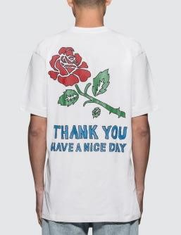 Chinatown Market Thank You Rose T-Shirt