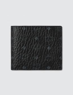 MCM Claus Bi-Fold Coin Wallet
