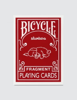 "Fragment Design x Bicycle ""Red"" Playing Cards"