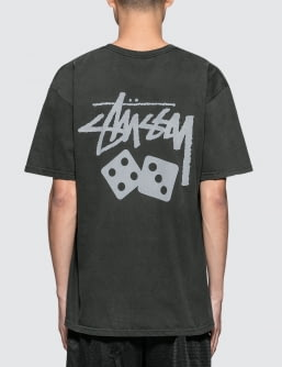 Stussy Dice Pig. Dyed T-Shirt