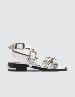 Toga Pulla Polido Sandals