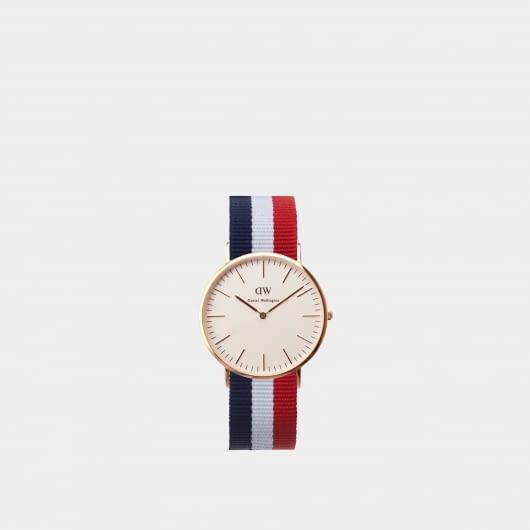 Daniel Wellington Classic Cambridge Rose Gold Men's Watch
