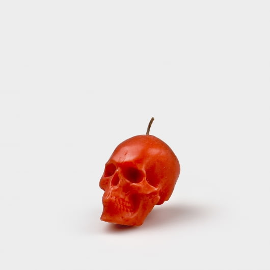 Homethecary Skull Head Small Candle