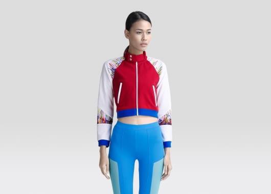 HAY UNITED Red Drip Jacket