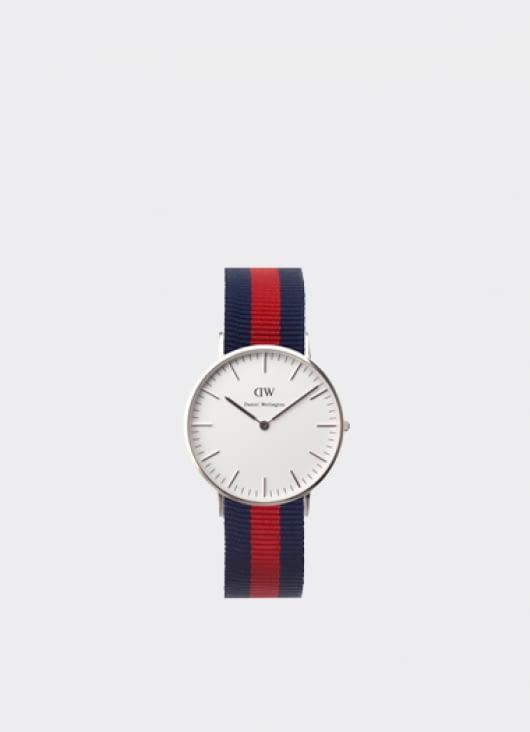 Daniel Wellington Classic Oxford Silver Ladies' Watch