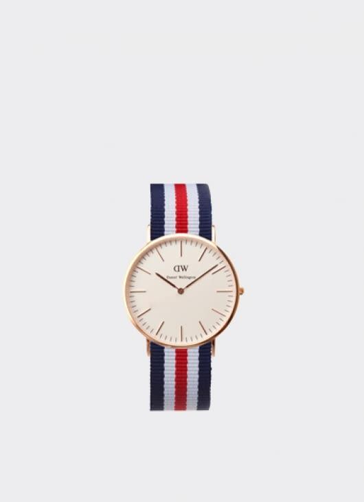 Daniel Wellington Classic Canterbury Rose Gold Men's Watch
