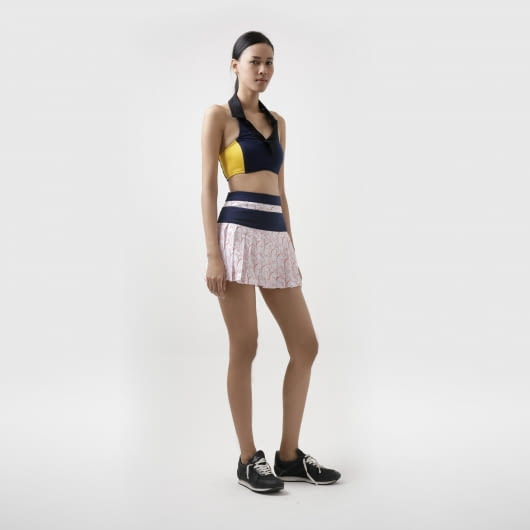HAY UNITED Mid-Knight Tennis Skirt