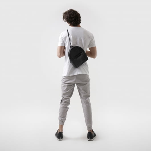 Patrick Owen Cobra Leather Medium Sling Bag