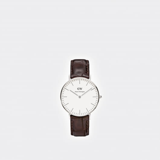 Daniel Wellington Classic York Croco Pattern Lady's Watch