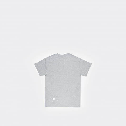 Footurama Blok M Grey Cotton T-Shirt