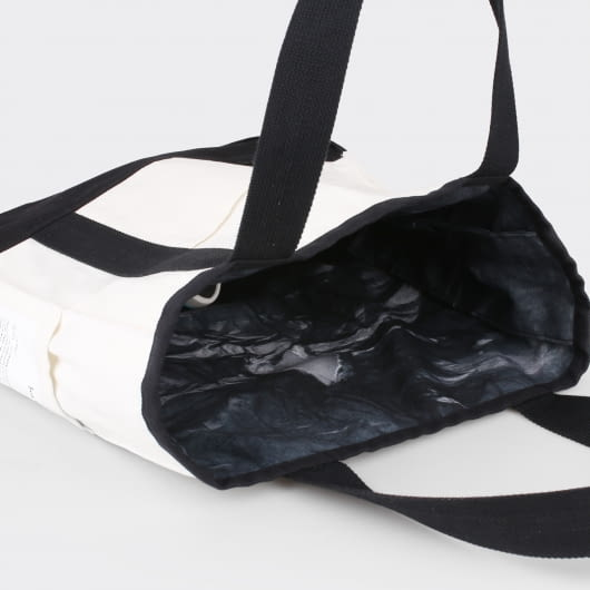 Bobobobo x FBudi Collaborations Black Hole Tote Bag by Fbudi