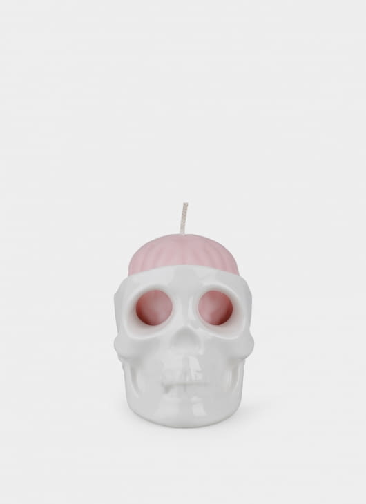 Dumbfounded Skull Candle Case & Brain Candle