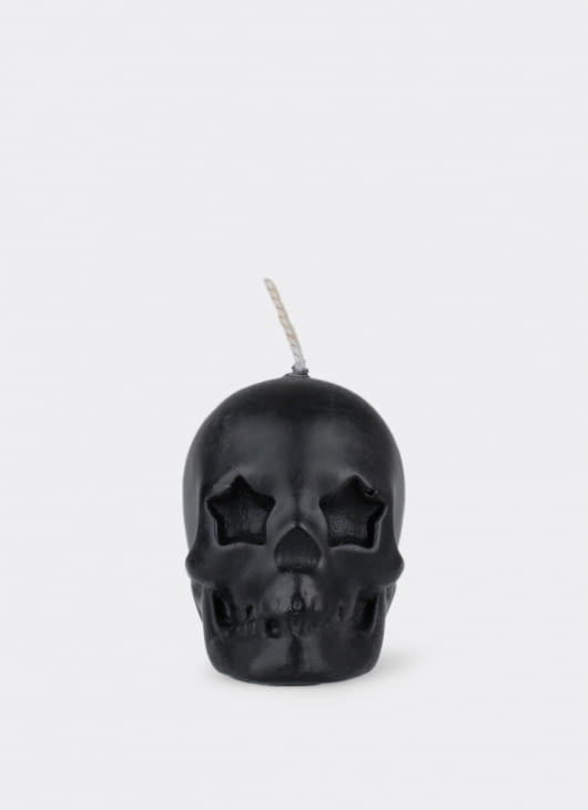 Dumbfounded Skull Miniature Star Candle