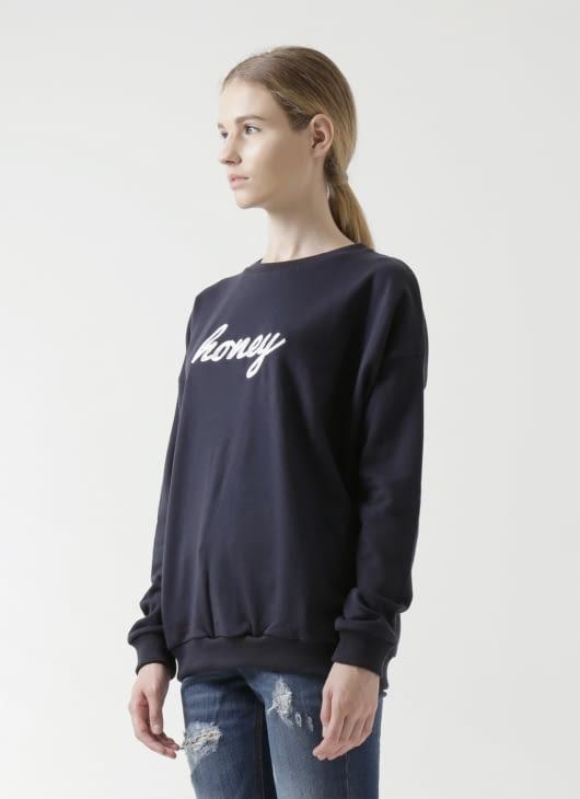 Sixteen Denim Scale Honey Sweater