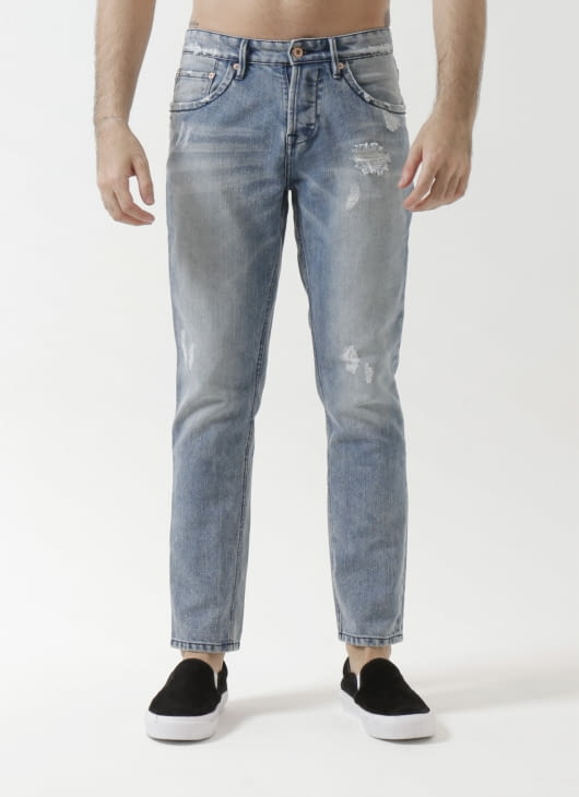 Sixteen Denim Scale Dippskin TRR 3103 Jeans