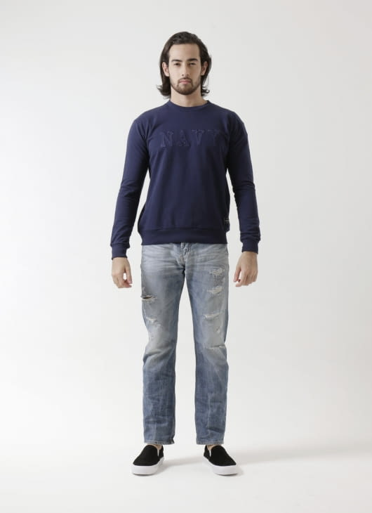 Sixteen Denim Scale Mc Coy Sweater