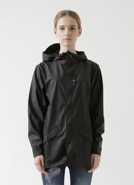 Rains Black Jacket