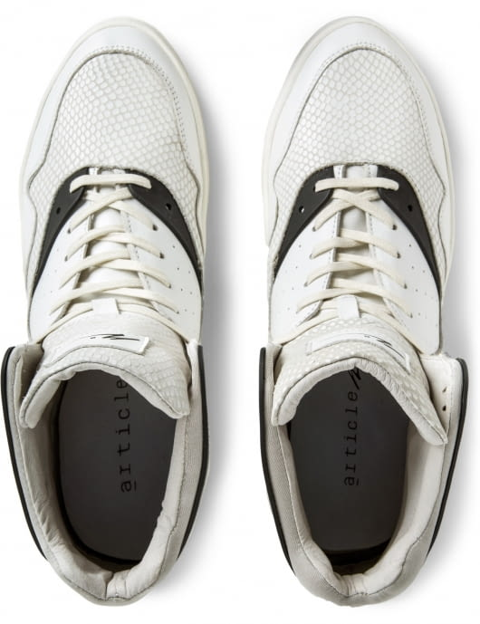 article n˚_____ White/Black 0225-0214 Shoes