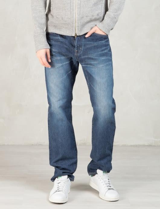 Spellbound Indigo Authentic Old Wash 13.5oz 5 pockets Authentic Standard fit Selvedge Denim Jeans